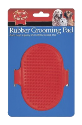 Rubber Grooming Pad