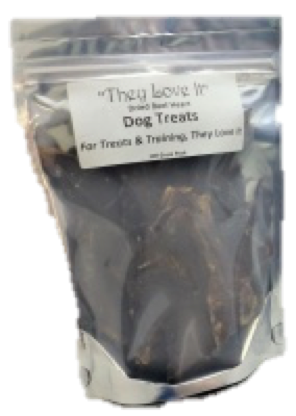 Dried Beef Heart Treats 100g Working Dog Theyloveit Co Uk