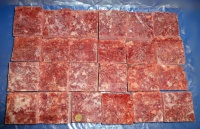 Minced Chicken with Bone 10kgs (22lb) Small blocks  Working Dog