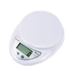 Digital Scales White 5kg/1g