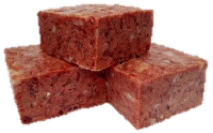 New Recipe! Lamb & Chicken Complete 20 kilos (44lb) 30 x Large Blocks -   Working Dog