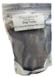 Dried Beef Heart Treats  100g Working Dog