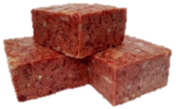 NEW  Recipe! Lamb & Chicken Complete 5kgs (11lb) 12 x Small Blocks -   Working Dog