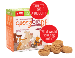 QueeziBics Dog Travel Sickness Biscuits